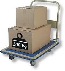 Vozík plošinový 300 kg ( 88 x 60 cm )