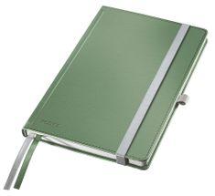 Zápisník Leitz Style A5 tvrdé desky čtverečkovaný celadonově zelený