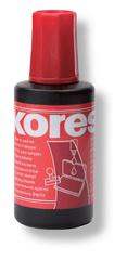 Razítková barva Kores červená 28 ml