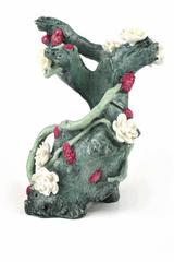Oase Akvarijní dekorace zelený kořen s květy