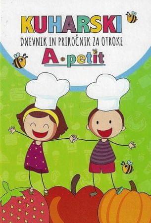 Kuharski dnevnik in priročnik za otroke, trda