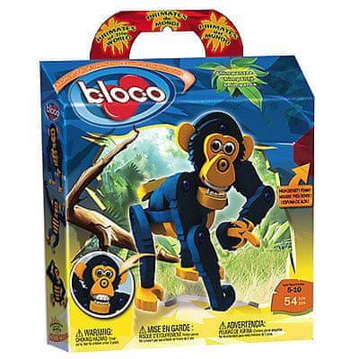 Bloco sestavljiva igrača Šimpanz