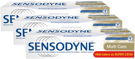 Sensodyne zobna pasta Multi Care, 3 x 100 ml