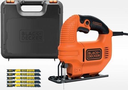 Black+Decker vbodna žaga KS501KA