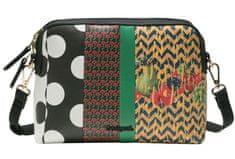 Desigual ženska ročna torbica črna Lola Patch Marvin