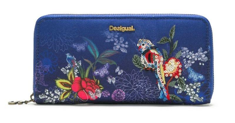 Desigual dámská tmavě modrá peněženka