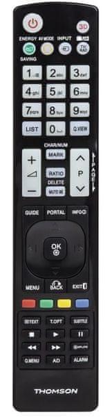 Thomson ROC1117LG, univerzální ovladač pro TV LG