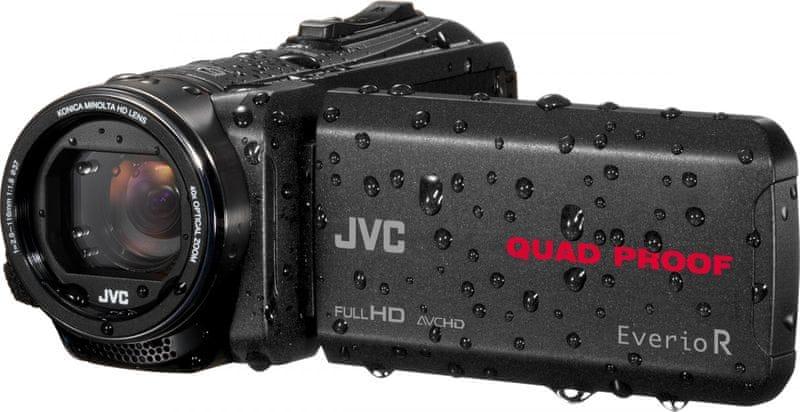 JVC GZ-R430 Black