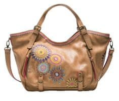 Desigual ženska ročna torbica rjava Amelie Rotterdam