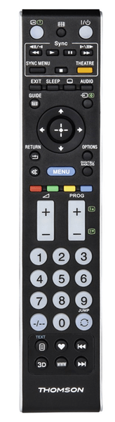 Thomson ROC1117SON, uni ovladač pro TV Sony