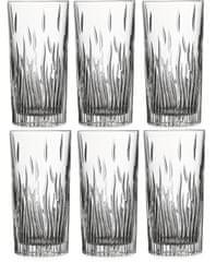 RCR Fire Crystal sklenice 370 ml, 6 ks