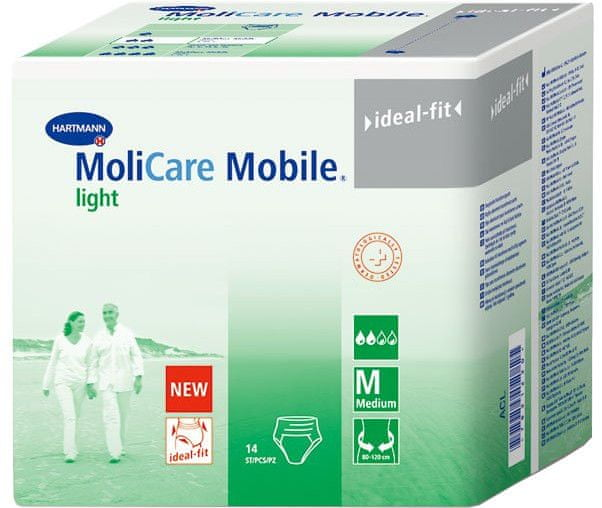 Hartmann Molicare Mobile Light Medium 14 ks