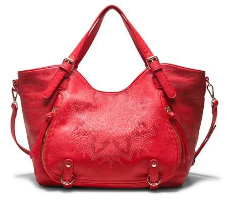 Desigual ženska ročna torbica rdeča Anonymous Rotterdam
