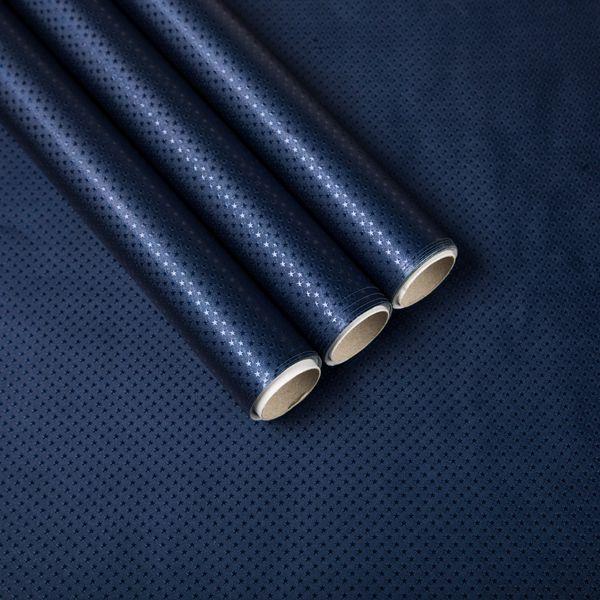 Giftisimo Balicí papír 3x 1,5 m, tmavě modré hvězdičky