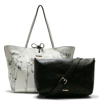 Desigual ženska ročna torbica črna Ayla Butter Capri