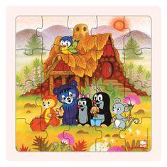 Bino Puzzle Krtečková a přátelé 20 dílků
