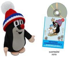 MÚ Brno Krtek 25cm kulich + DVD