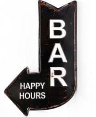 Sifcon znak-strzałka BAR HAPPY HOURS