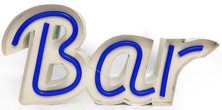 "Sifcon Led závěsný nápis ""BAR"", modrý - rozbaleno"
