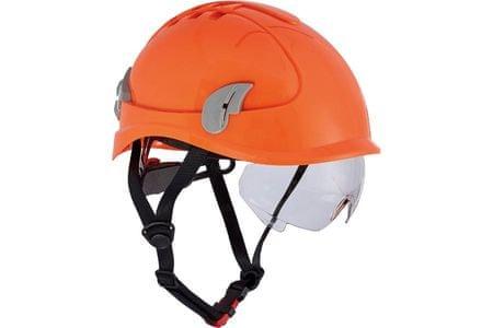 Červa Ochranná prilba Alpinworker pre prácu vo výškach HV oranžová