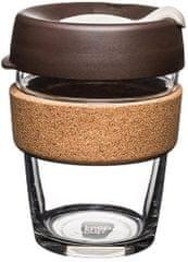 Keep Cup szklany kubek termiczny ALMOND CORK BREW M