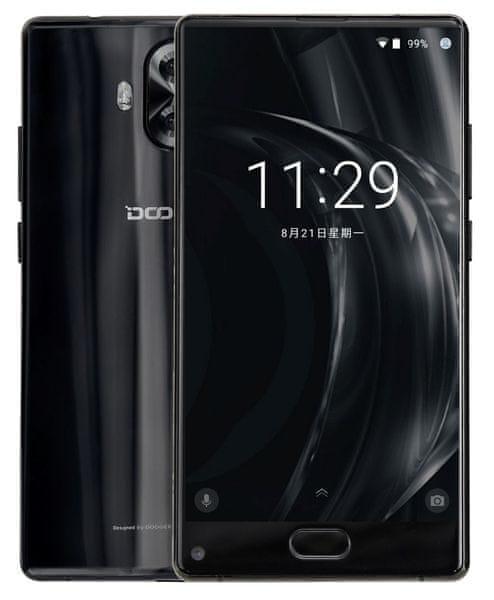 Doogee MIX Lite 2GB/16G, DualSIM, CZ LTE, bezrámečkový displej, černý