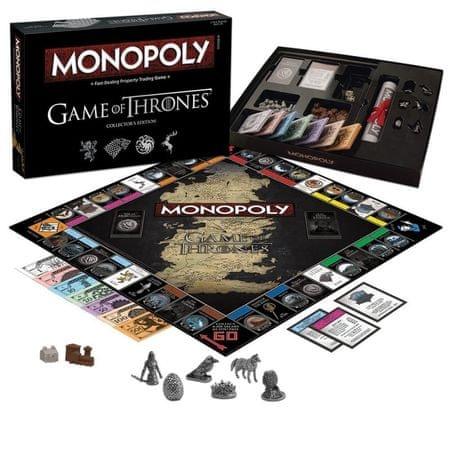 HASBRO Monopoly družabna igra Game of Thrones - Igra Prestolov