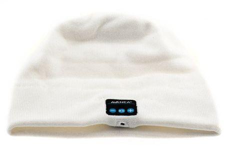 Avanca kapa s slušalkami Beanie, Bluetooth 3.0, bela