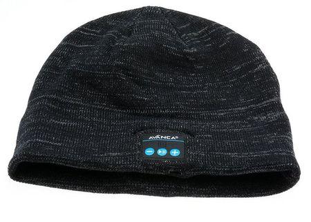Avanca kapa s slušalkami Beanie, Bluetooth 3.0, črna