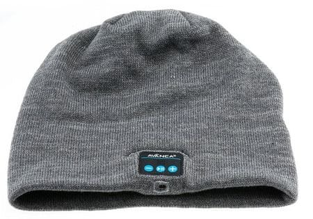 Avanca kapa s slušalkami Beanie, Bluetooth 3.0, siva