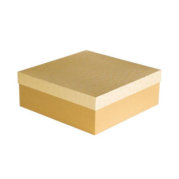 Box Marta 1 zlaté vločky 33x33x12 cm