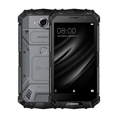 Doogee S60 6GB/64GB, DualSIM, CZ LTE, čierny