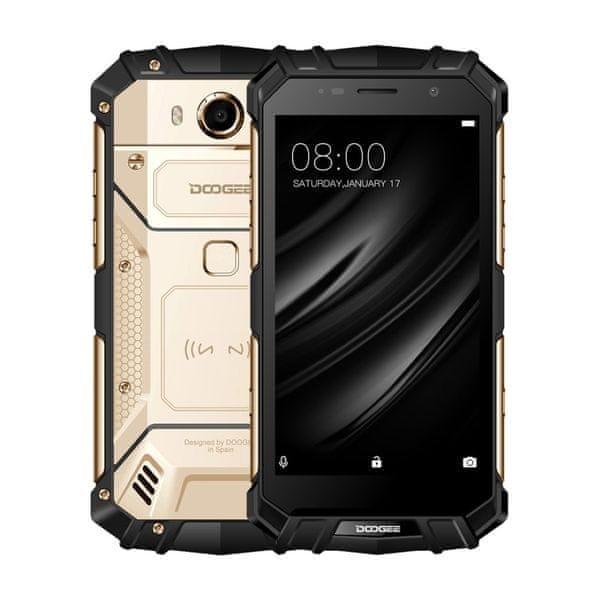 Doogee S60 6GB/64GB, DualSIM, CZ LTE, zlatý