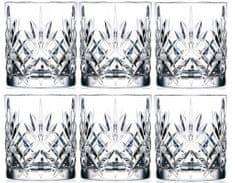 RCR Crystal Melodia sklenice na whisky 230 ml, 6 ks