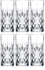 RCR Crystal Melodia sklenice na vodu 350 ml, 6 ks