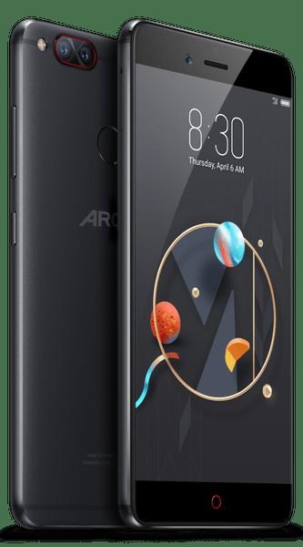 Archos Diamond Selfie Alfa, 4GB/64GB, černý