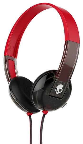 Skullcandy Uproar s mikrofonem, černá/červená (S5URHT-495)