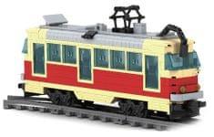 Ausini Stavebnice tramvaj 381 dílů