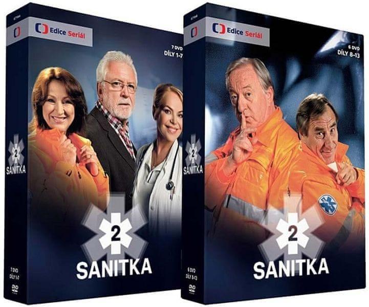 Sanitka 2 (13DVD) - DVD