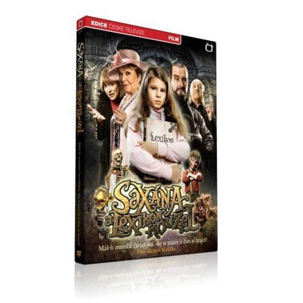 Saxana a Lexikon kouzel - DVD