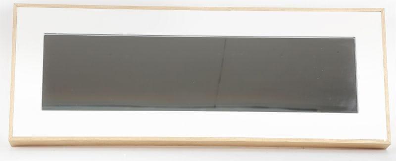 Sifcon Nástěnné zrcadlo, odbelníkové, bílé