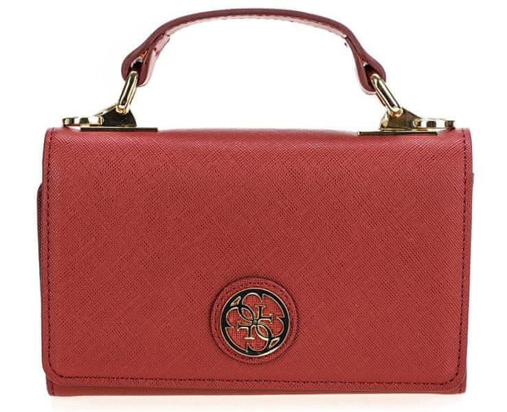 Guess Dámská kabelka Cyndy Phone Case Cross-Body Red