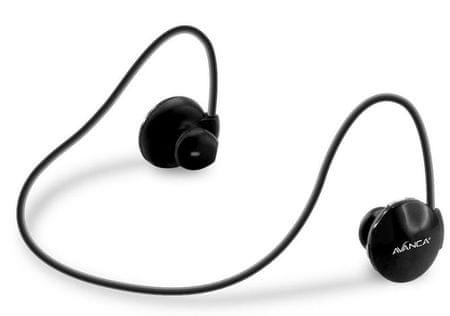 Avanca slušalke S1 Sports, črne