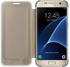 Samsung torbica Clear View za Galaxy S7 G930, zlata (EF-ZG930CFEGWW  )