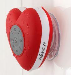 Bluetooth zvučnik Waterproof Heart, crveni