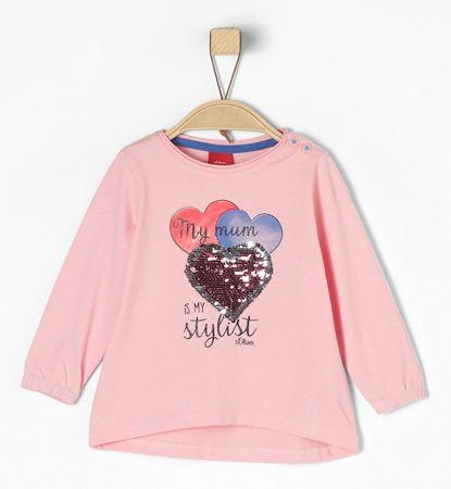 s.Oliver T-shirt dziewczęcy 68 różowy
