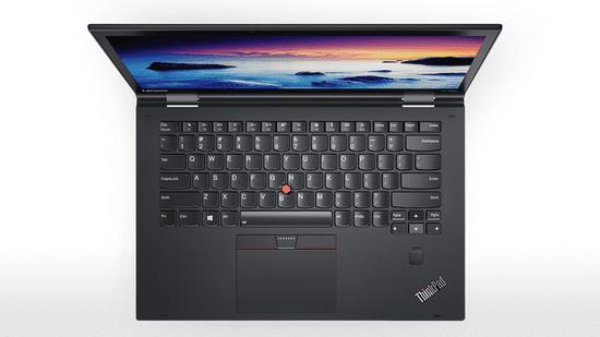 Lenovo prenosnik ThinkPad X1 Yoga 2 i7-7500U/16GB/SSD512GB/14WQHD/W10PRO (20JD0057SC) - odprta embalaža
