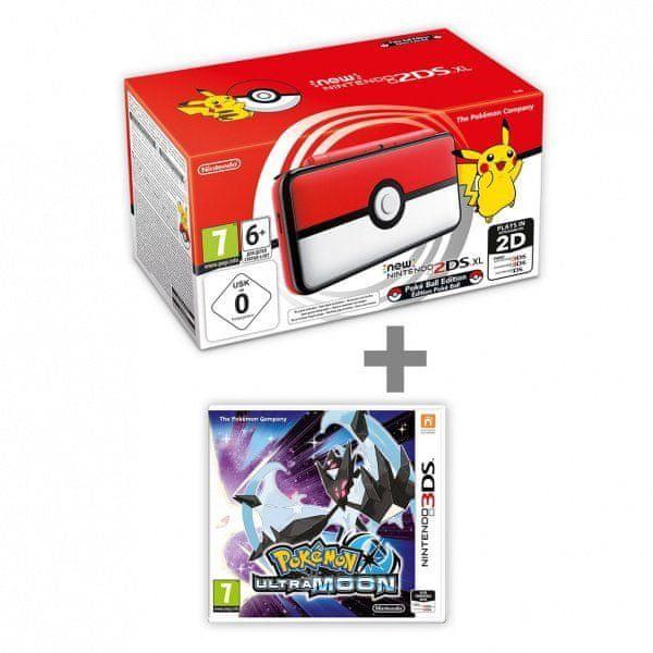 Nintendo New N2DS XL Pokéball Edition +Ultra Moon