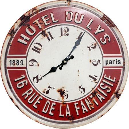 """Sifcon Nástěnné hodiny """"HOTEL DU LYS"""", 40cm"""
