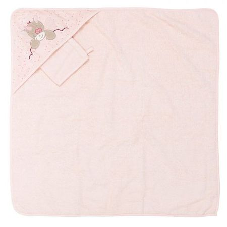 Nattou ręcznik z kapturem NJL